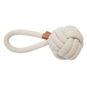 Corde balle et boucle Harper beige taille M Ø 15 x L 27 cm 671875