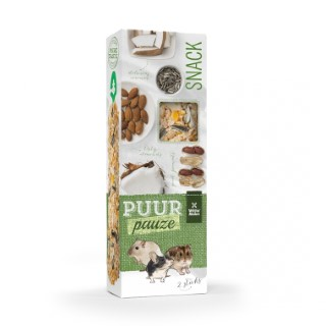 Sticks puur amande et cacahuète pour rongeurs 110 g 671885