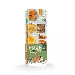 Sticks puur orange et papaye pour rongeurs 110 g 671886