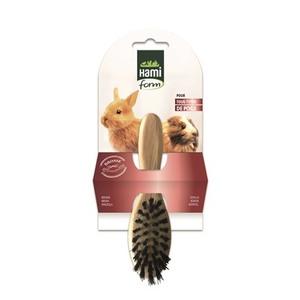 Brosse simple en bois pour rongeurs 18x6 cm 671907