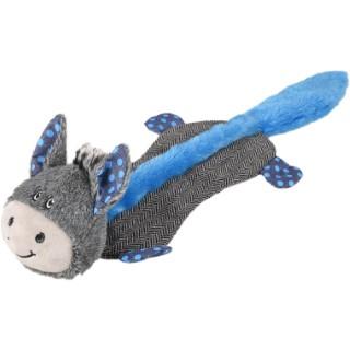 Peluche Dotties cheval bleu/gris 52 cm 671976