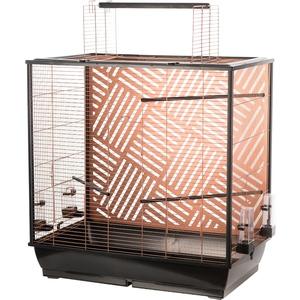 Cage Siri pour perruche en cuivre 78x48x81,5 cm 672005