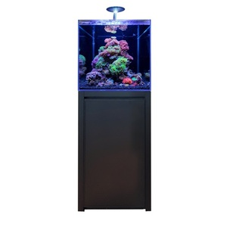 Bm Aquarium Reef 125 Noir 50x50x50 cm+ Meuble 50x50x86 cm 672140
