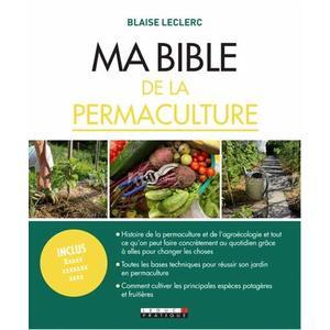 Ma bible de la permaculture aux éditions Leduc.S 672210