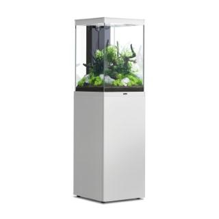 Aquarium avec meuble Tower blanc L 40 x l 40 x H 60 + 85 cm 672365