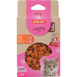 Friandises pour chat Mooky Delies beauté du poil en étui de 60 g 672523