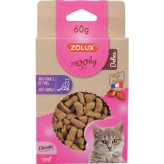 Friandises pour chat Mooky Delies anti boules de poil en étui de 60 g 672524