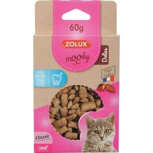 Friandises pour chat Mooky Delies hygiène dentaire en étui de 60 g 672526