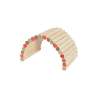 Pont en bois Rodyplay taille L coloris multicolore 55x28x2,7 cm 672611