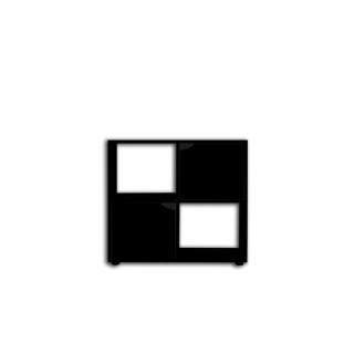 Meuble support Karapas 80 pour terrarium Aqua et Terra 80,5x35,5x72 cm 672616