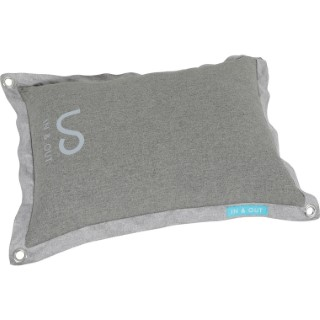 Coussin In/Out T110 en polyester gris 115x83x20 cm 672621