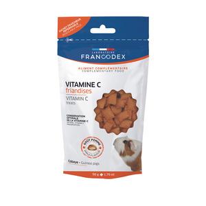 Friandises vitamine C pour cochon d'inde en sachet de 50 g 672643