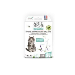 Pipette insectifuge bio pour chat. La boîte de 4 672730