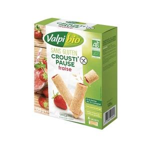 Crousti fraise Valpibio - 125 g 672798