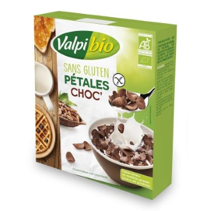 Céréales au chocolat sans gluten Pétales Choc Valpibio - 275 g 672800