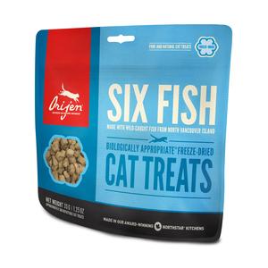 Orijen treat six fish pour chat - 35 gr 673650