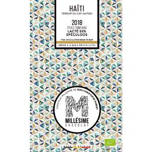 Tablette de chocolat d'Haïti au lait et spéculos 75 g 674709
