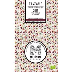 Tablette de chocolat noir (90 %) de Tanzanie 75 g 674713