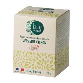 Bougie parfuméeBulle de naturecontrôlée par Ecocert Greenlifesenteur Verveine citron - 180 g 674850