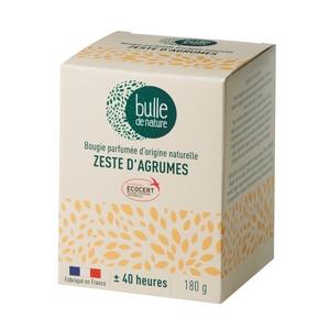 Bougie parfuméeBulle de naturecontrôlée par Ecocert Greenlifesenteur Zeste d'agrumes - 180 g 674853