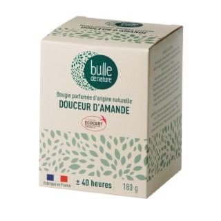 Bougie parfuméeBulle de naturecontrôlée par Ecocert Greenlifesenteur Douceur d'amandes - 180 g 674856