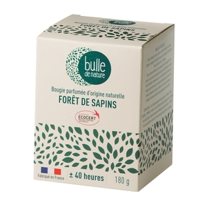 Bougie parfuméeBulle de naturecontrôlée par Ecocert Greenlifesenteur Forêt de sapins - 180 g 674857
