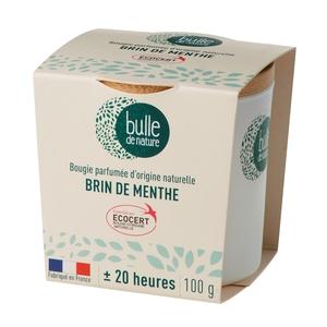 Bougie parfuméeBulle de naturecontrôlée par Ecocert Greenlifesenteur Brin de menthe - 100 g 674859