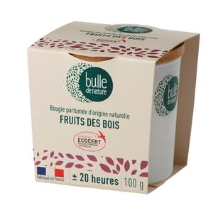 Bougie parfuméeBulle de naturecontrôlée par Ecocert Greenlifesenteur Fruits des bois - 100 g 674860