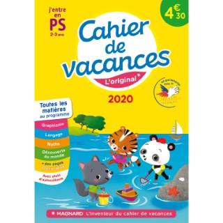 Cahier de vacances 2020 première section aux éditions Magnard 674906