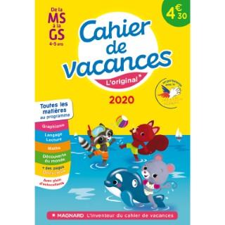 Cahier de vacances 2020 moyenne à grande section aux éditions Magnard 674908