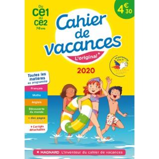 Cahier de vacances 2020 CE1 à CE2 aux éditions Magnard 674917