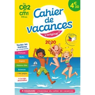 Cahier de vacances 2020 CE2 à CM1 aux éditions Magnard 674920
