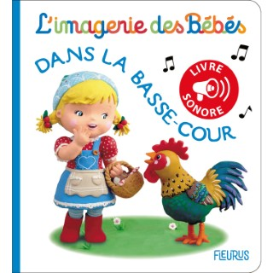 Dans la basse-cour – livre sonore aux éditions Fleurus 674941