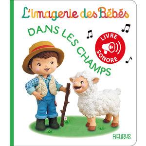 Dans les champs – livre sonore aux éditions Fleurus 674942