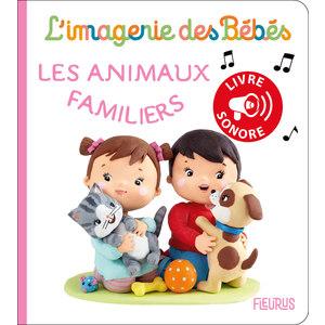 Les animaux familiers – livre sonore aux éditions Fleurus 674943