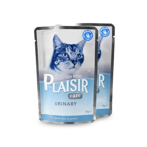 Aliment humide pour chat Plaisir Care pack urinary poisson 12x85 g 674986