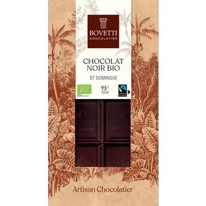 Chocolat noir bio de Saint-Domingue 73% - 100 g 675671