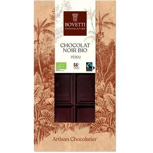 Chocolat noir bio du Pérou 56 % - 100 g 675676