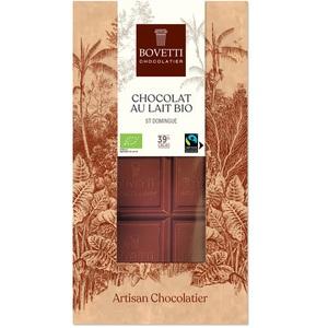 Chocolat au lait nature bio - tablette de 100 g 675678