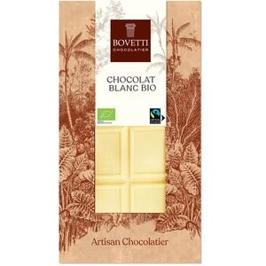 Chocolat blanc nature bio - tablette de 100 g 675682