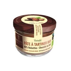 Pâte à tartiner bio au chocolat noir et aux noisettes - 200 g 675692