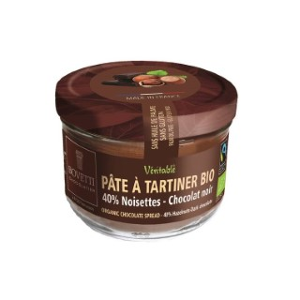 Pâte à tartiner bio au chocolat au lait et aux noisettes - 200 g 675693