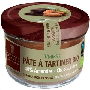 Pâte à tartiner bio au chocolat noir et aux amandes - 350 g 675697