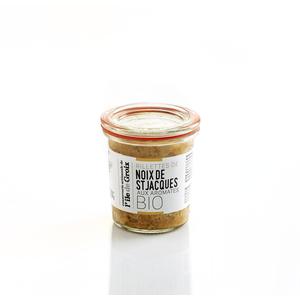 Rillettes bio de noix de saint Jacques 100 g 675702