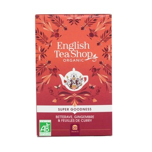 Infusion betterave, gingembre et feuilles de curry - 20 sachets 675761