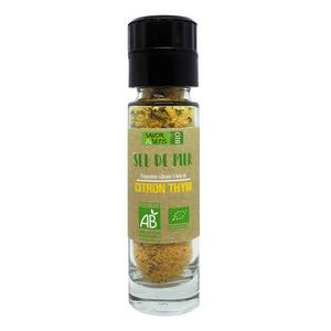 Sel au citron et thym bio 110 g 675800