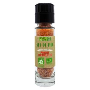 Sel au piment d'Espelette bio 110 g 675803