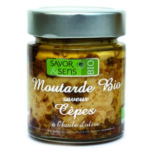 Moutarde bio aux cèpes 130 g 675804