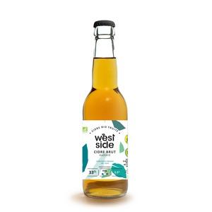 Cidre bio brut West side en bouteille de 33 cl 676229