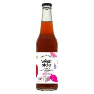 Cidre bio framboise West side en bouteille de 33 cl 676231